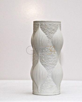 Florero porcelana alemana OP-ART