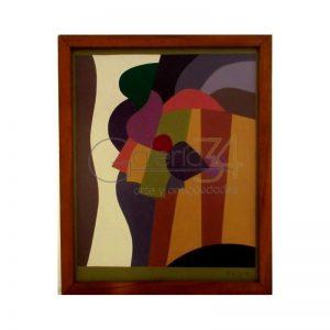 Oleo técnica abstracta André Serón