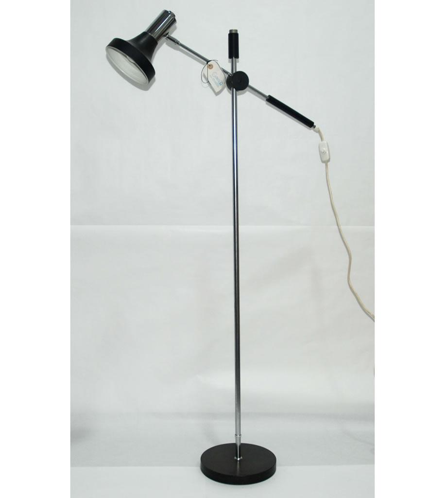 Lámpara de pie vintage de diseño alemán