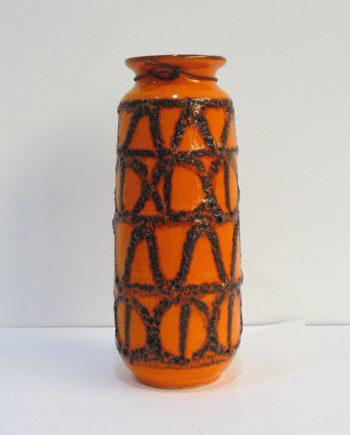 Florero cerámica alemana fat lava