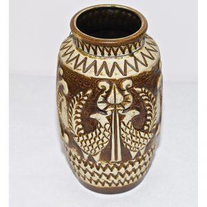 Florero cerámica alemana vintage