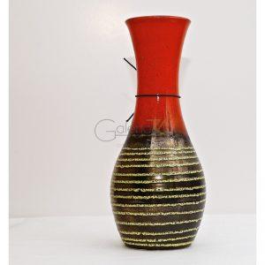 Florero de cerámica alemana esmaltada