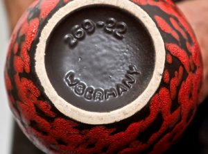 Florero cerámica piel de naranja