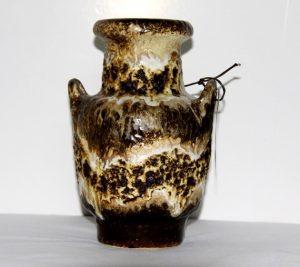 Florero de cerámica alemana fat-lava