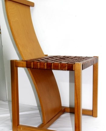Sillas vintage Alvar Aalto (conjunto de 6 sillas)