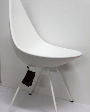 Silla gota Fritz Hansen de Arne Jacobsen (conjunto de 6 sillas)
