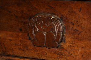 Consola china, madera de olmo