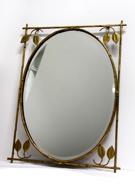 Espejo ovalado vintage espejos vintage originales for Espejo ovalado de pie