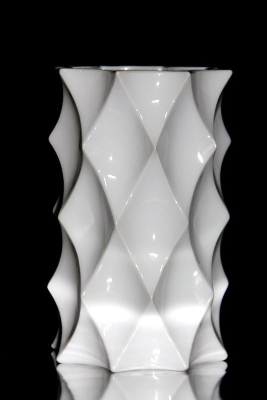 Jarrón de porcelana de Bavaria cubista
