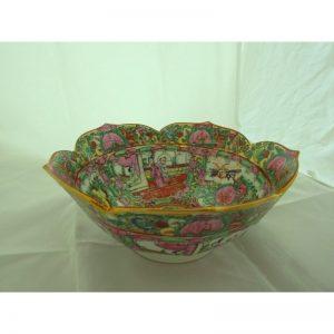 Cuenco de cerámica de Macao