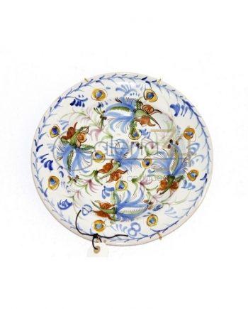 Plato cerámica gallega