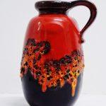 Jarra de cerámica alemana tipo fat lava
