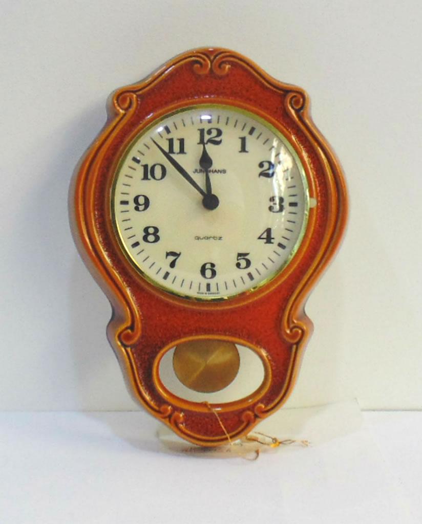 Reloj Pendular De Cer Mica Junghans Relojes Grandes De Pared Vintage ~ Relojes Grandes De Pared Vintage