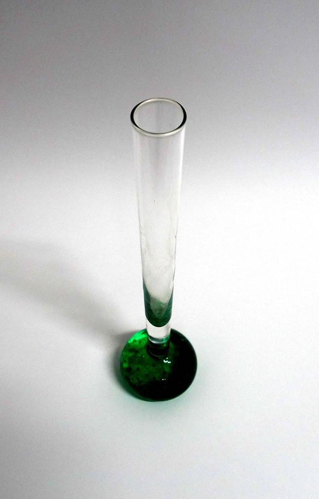 Jarrón de cristal de Murano