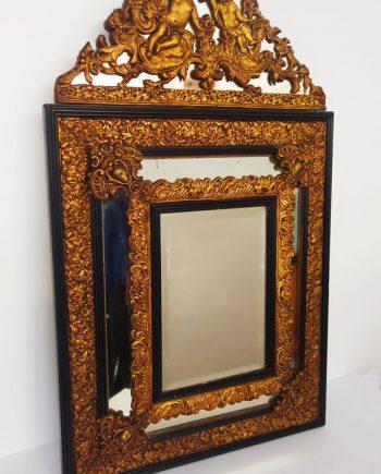 Espejo alfonsino dorado años 20