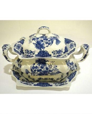 Sopera vintage de cerámica de Alfares de Pontesanpaio