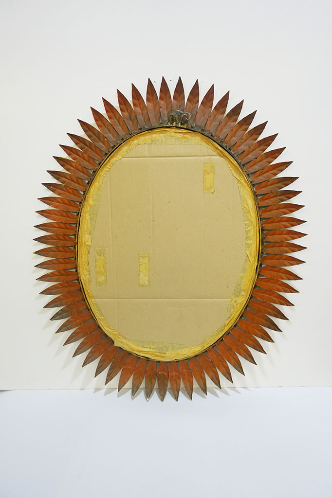 Espejo sol vintage dorado espejos sol vintage espejos - Espejo sol dorado ...