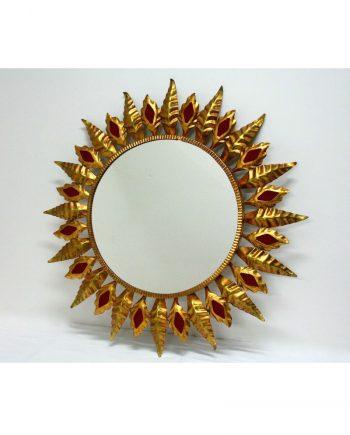 Espejo sol vintage años 60