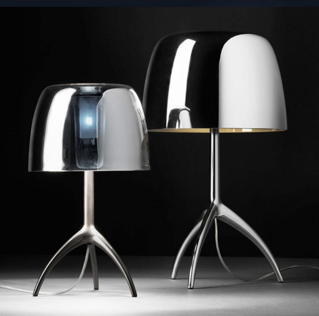 Lámparas de mesa vintage