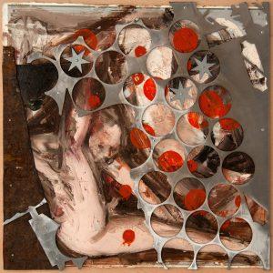 Boceto I de la serie jardín de las delicias de Florencio Maillo