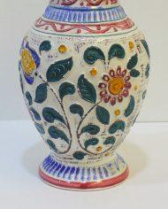 Florero de cerámica esmaltada, aleman BAY