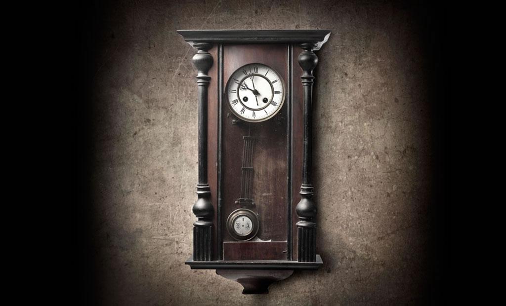relojes pendulares vintage