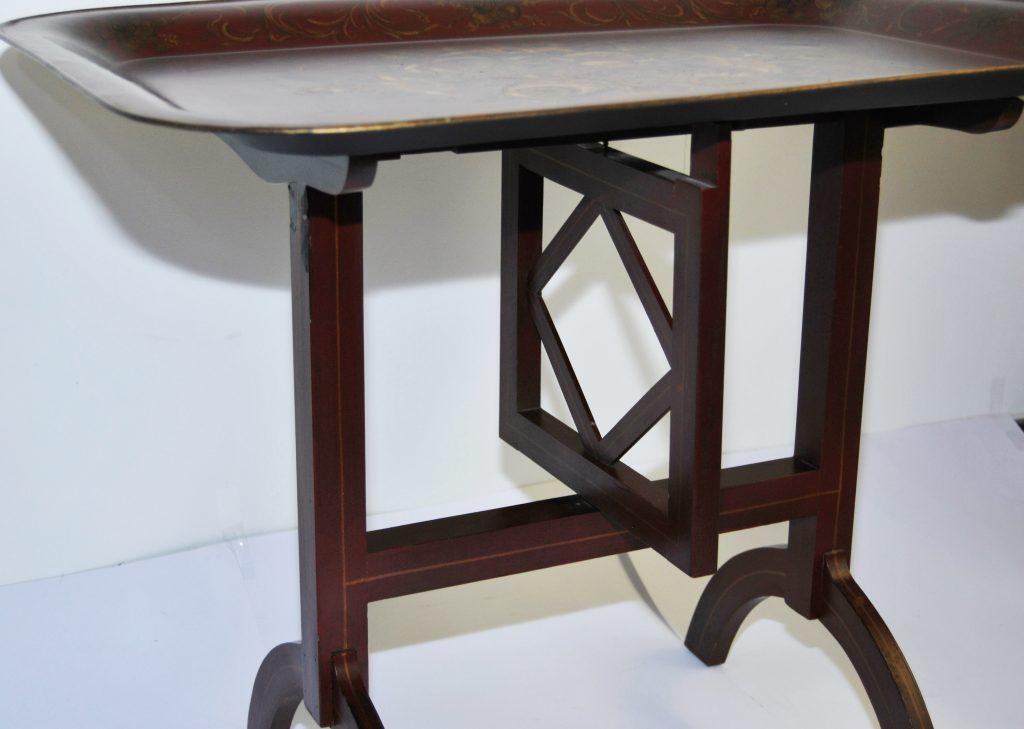 Mesa de centro plegable bandeja pintada a mano galer a 34 for Mesa centro plegable