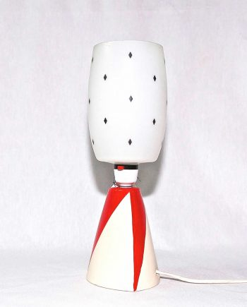 Lámpara de mesa cerámica Royal Norfolk