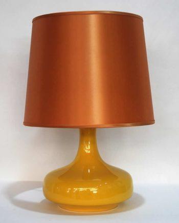 Lámpara de mesa vintage cerámica alemana