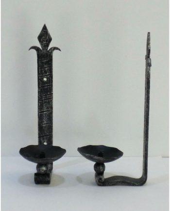 Apliques vintage de hierro forjado