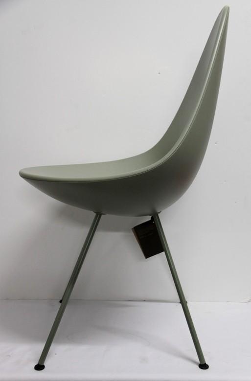 "Sillas Arne Jacobsen, Fritz Hansen, 6 sillas "" tipo gota """