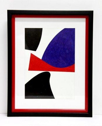 Dibujo abstracto geométrico André Serón
