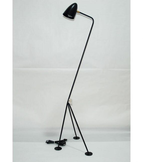 Lámpara tripode vintage