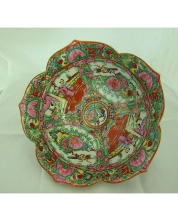 Cuenco de porcelana de Macao