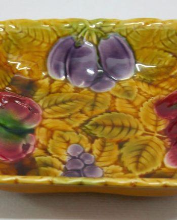 Fuente de cerámica de Sarreguemines