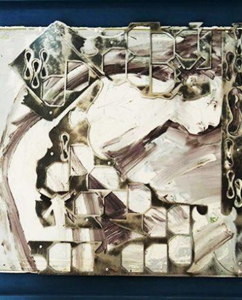 Boceto de Florencio Maillo. Serie Hortus Conclusus