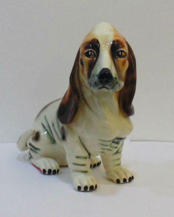 Perro cerámica vintage raza Spaniel