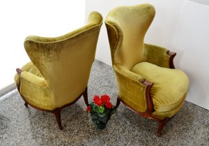 sillones luis xv. muebles antiugos