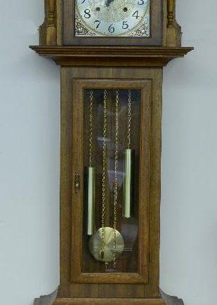 reloj granfather antiguo alemán