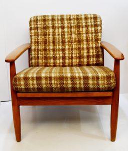 mueble nórdico vintage antiguo. sillón