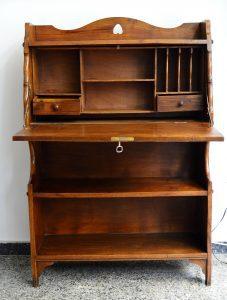 librería castaño. mueble antiguo