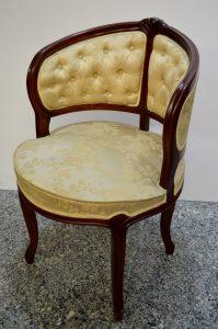 butaca isabelina. mueble antiguo