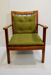sillón nórdico de teca antiguo