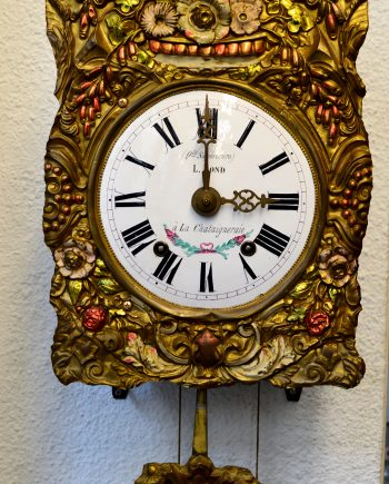 reloj antiguo de pared morez