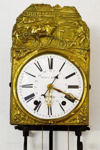 reloj morez de péndulo con campana