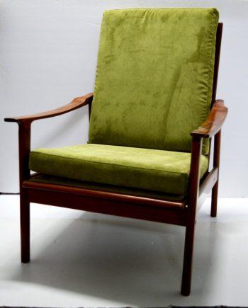 sillón danés teca vintage